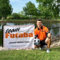 Jamie Robertson Takes Flight with Futaba