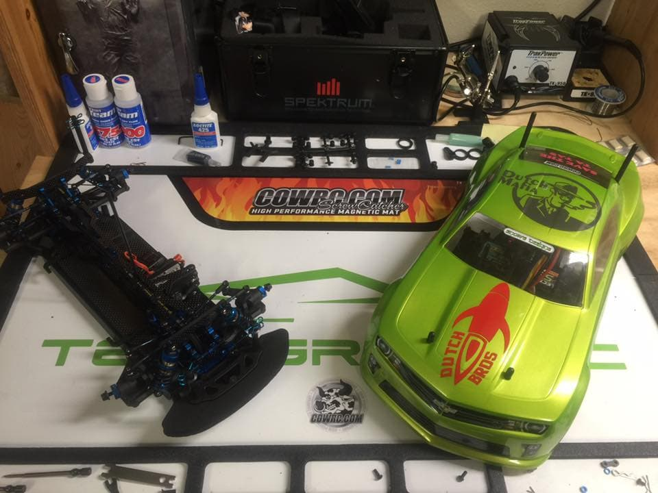 Jeff Ramos Camaro Workbench
