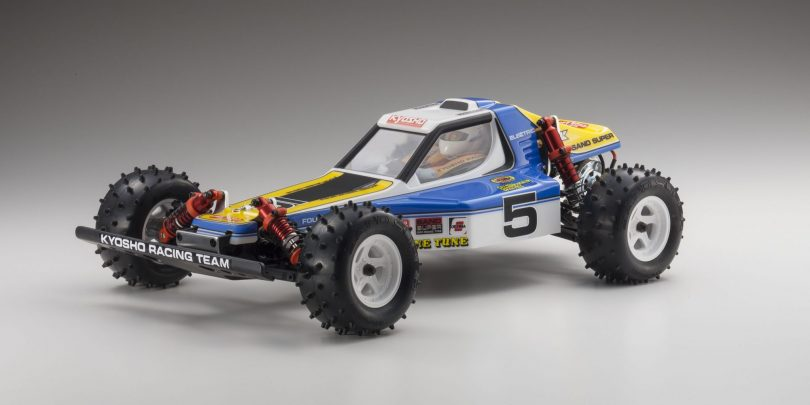Kyosho Re-releases the Optima 4WD Off-road Buggy Kit