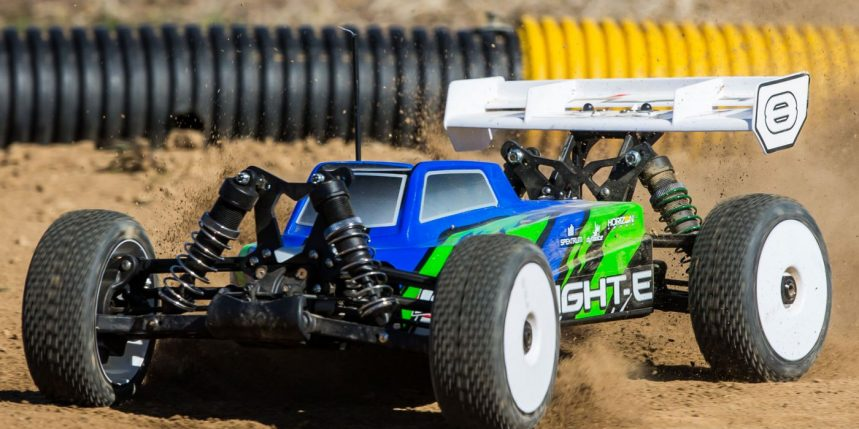 Losi's 8IGHT-E 4-Wheel Drive RTR Buggy