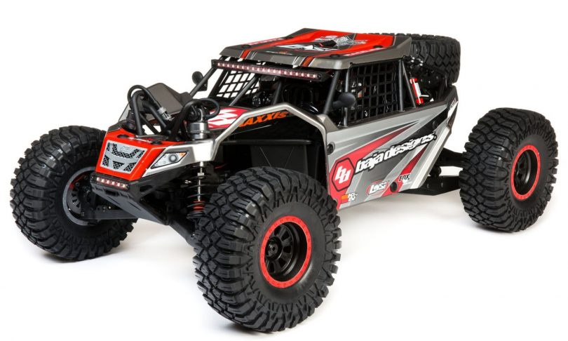Large & In-charge: Losi's 1/6-scale Super Rock Rey Rock Racer