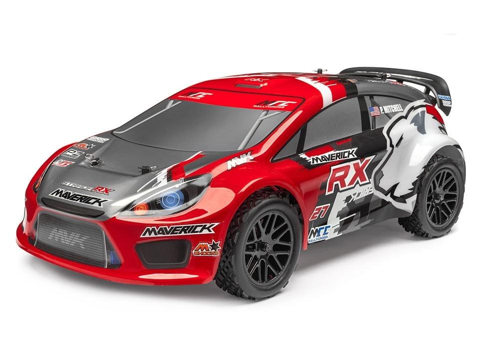 Maverick Strada Red RX Rally Car