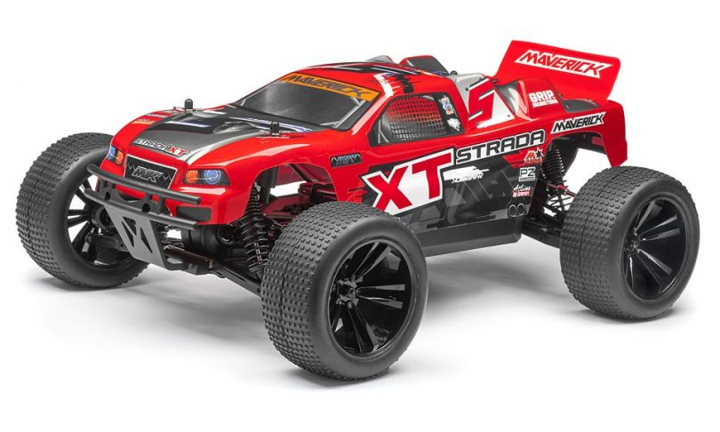 Maverick's Strada Red Lineup of Brushless 1/10-scale R/C Vehicles