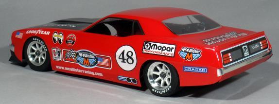 McAllister Racing Cuda On-Road Body - Rear