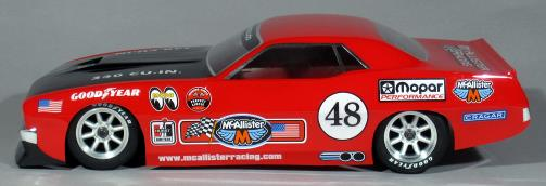 McAllister Racing Cuda On-Road Body - Side
