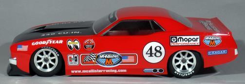 McAllister Racing Cuda On-Road Body - Side