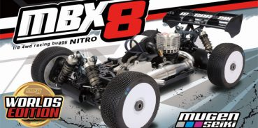 Mugen Seiki Announces the World's Edition MBX8 Nitro Buggy Kit