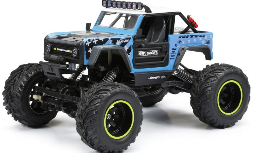 Big Fun, Small Price. New Bright's 1/15 Vaughn Gittin Jr. Ford Bronco Rock Crawler