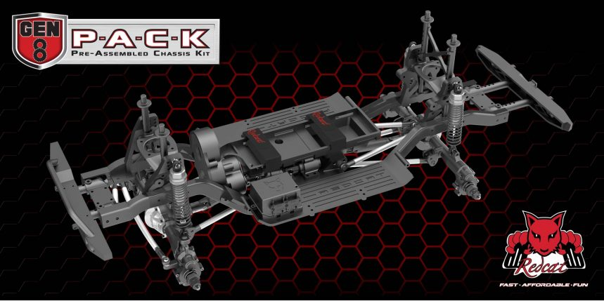 Redcat Racing Announces the GEN8 P.A.C.K (Pre-Assembled Chassis Kit)