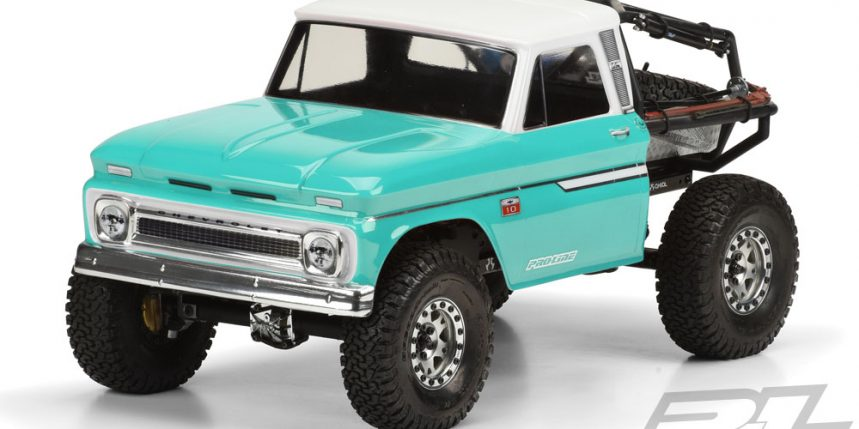 Pro-Line's 1966 Chevy C-10 Cab for 12.3 Wheelbase Scalers
