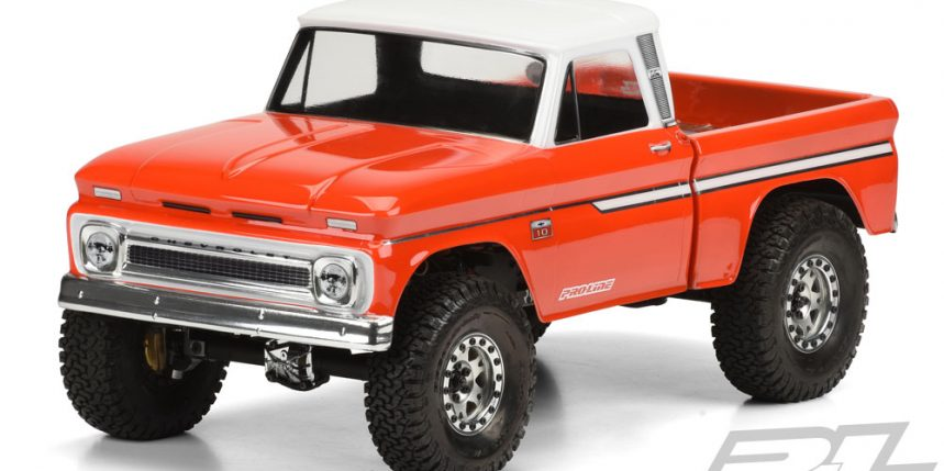 Pro-Line's 1966 Chevy C-10 Body for 12.3 Wheelbase Scalers