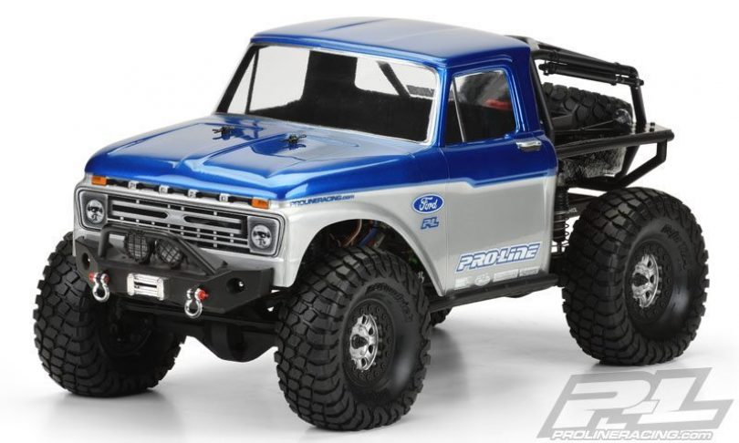1966 Ford F-100 Clear Body by Pro-Line