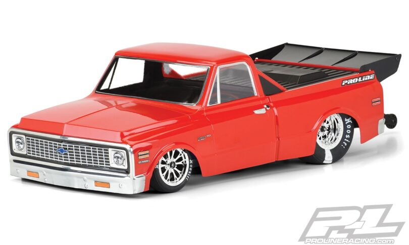 Haul Tail with Pro-Line's 1972 Chevy C-10 Dragster Body
