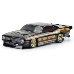 "Pro-Line 1972 Plymouth 'Cuda ""Motown Missle"" Black Tough-Color Body"