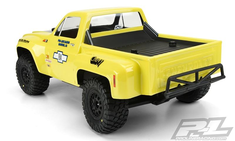 Pro-Line 1978 Chevy C-10 Race Truck Body - Rear