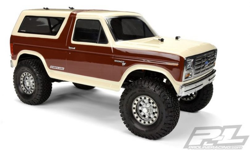 Pro-Line Releases a 1981 Ford Bronco Body for Scale R/C Rigs