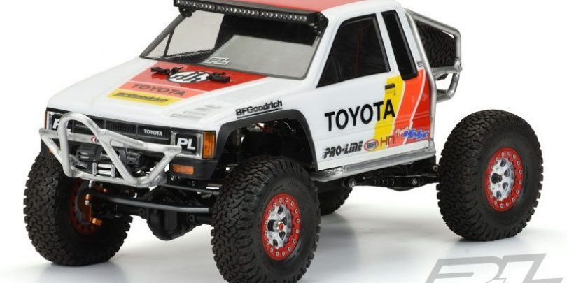 Pro-Line 1985 Toyota HiLux SR5 Scale/Trail R/C Body (Cab Only)