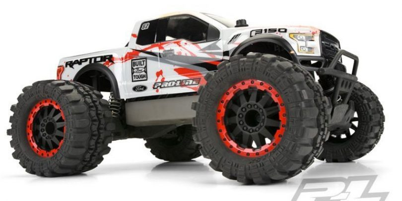Pro-Line Releases Two 2017 Ford F-150 Raptor Monster Truck Bodies