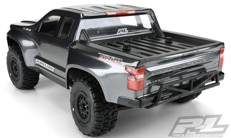 Pro-Line 2019 Chevrolet Silverado Z71 Trail Boss True Scale Body - Rear