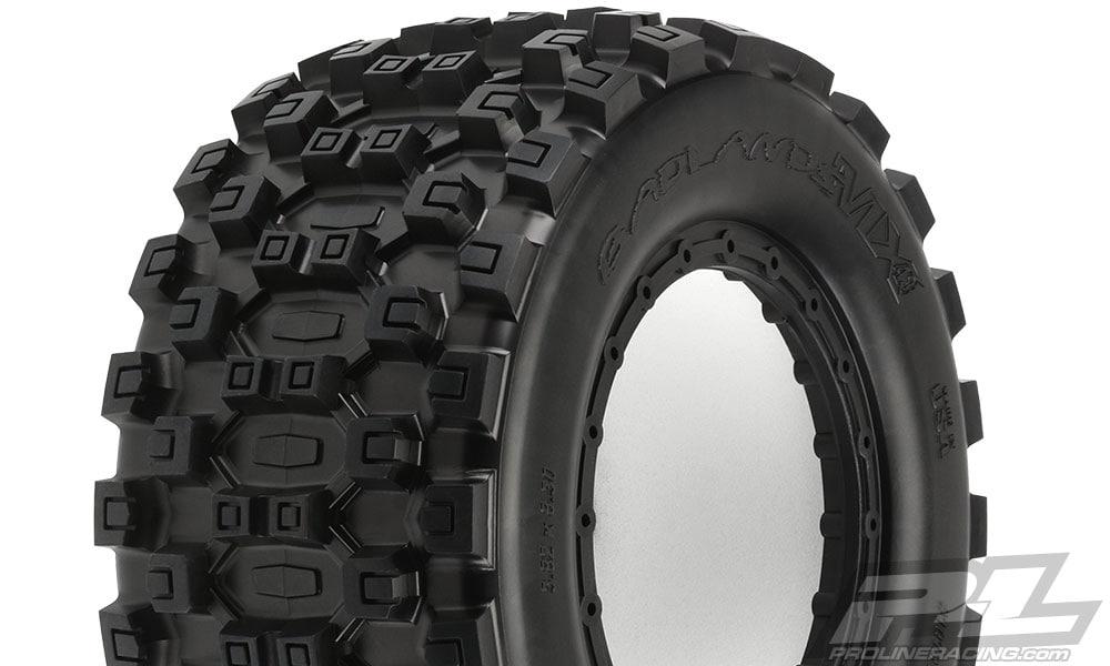 Pro-Line Badlands MX43 Pro-Loc Tire Tread Closeup
