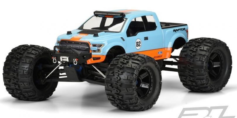 2017 Ford Raptor Body for Monster Trucks
