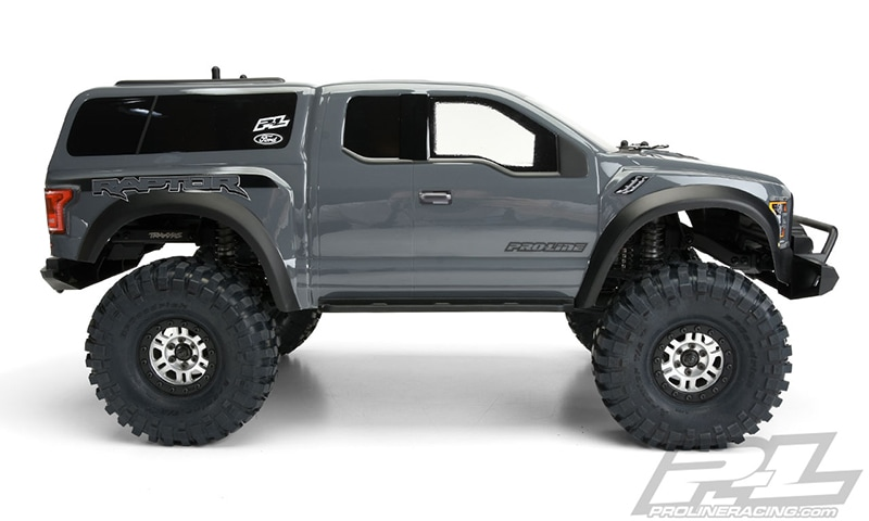 Pro-Line Ford F-150 Raptor Body for the Traxxas TRX-4 - Side