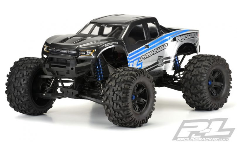 Ford Raptor For Sale Pro-Line's 2017 Ford F-150 Raptor Body for the Traxxas X ...