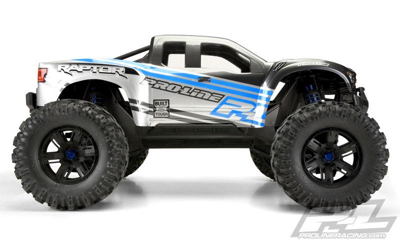 Pro-Line Ford F-150 Raptor X-Maxx Body - Side