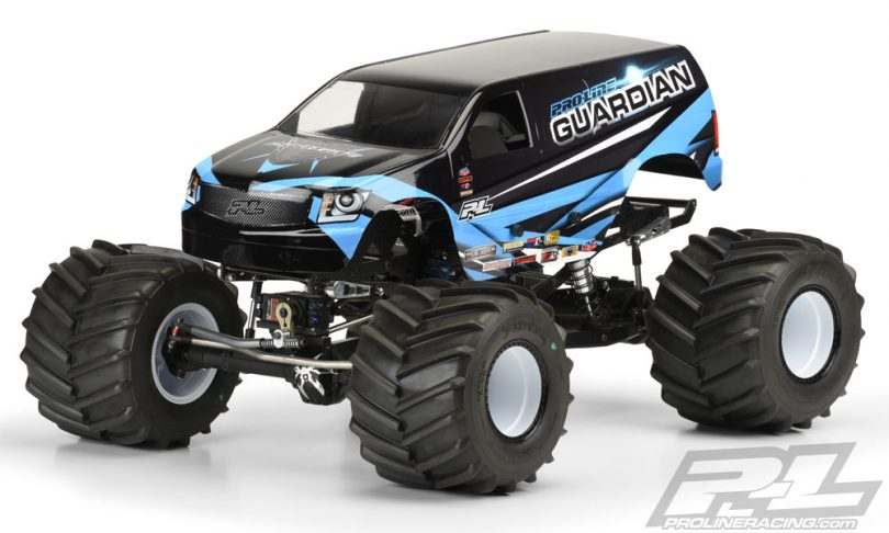 Build a Mammoth Monster Truck with the Guardian Body from Pro-Line