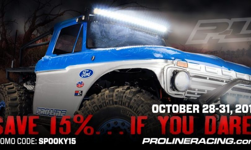 Save 15% with Pro-Line During Their Halloween Sale