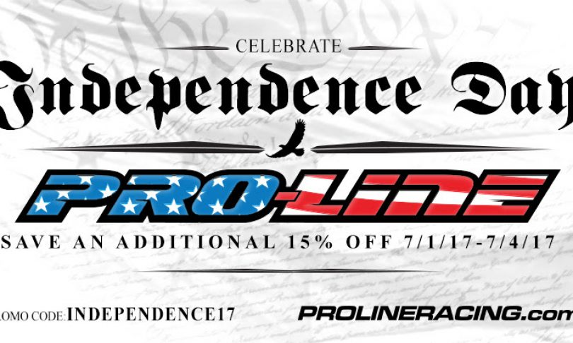 Pro-Line's Independence Day Sale: Save 15%