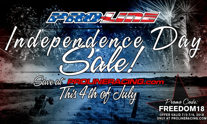 Fire Up Savings During Pro-Line's Independence Day Sale!