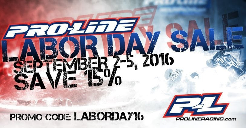 Pro-Line Labor Day Sale - 2016