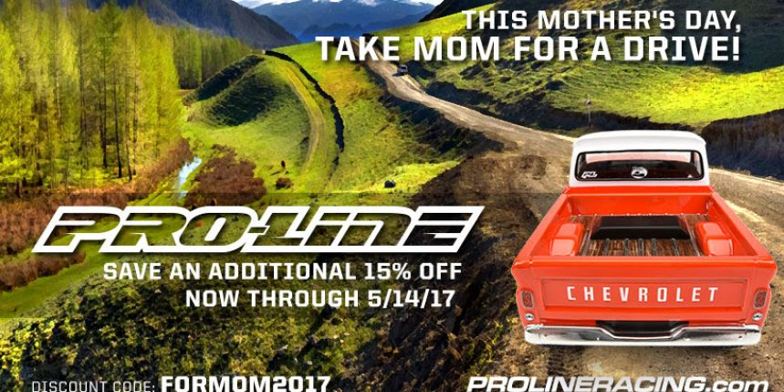 Show Mom Some Love During Pro-Line's Mother's Day Sale