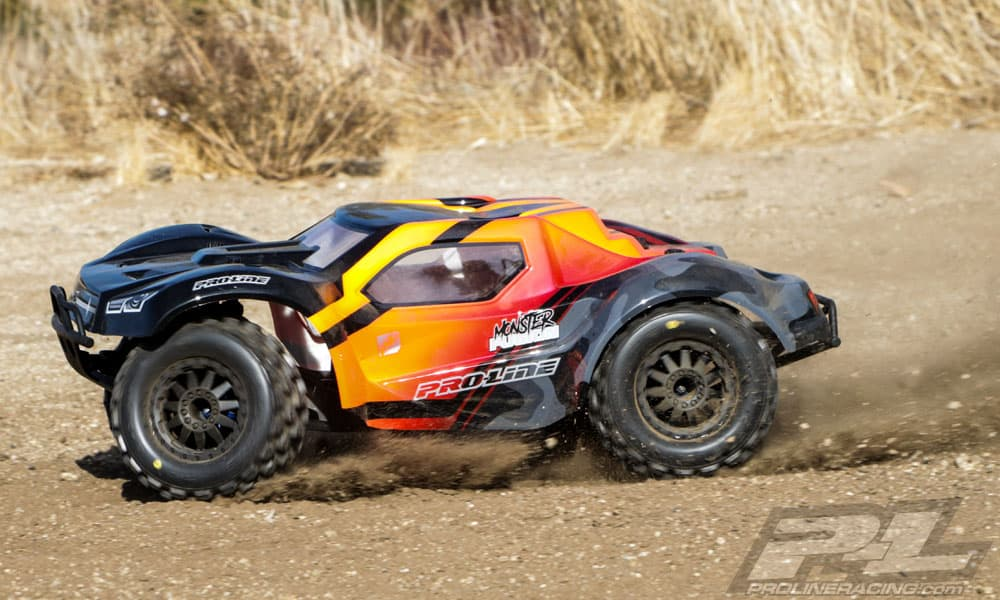 Img likewise T Blue together with Pro Line Pre Cut Monster Fusion Body For The Traxxas Slash Outdoors furthermore Rzeppa Emaxx Main B E further Ajw Rqpxl Sl Ac Ss. on rc traxxas slash 1 16 with upgrades