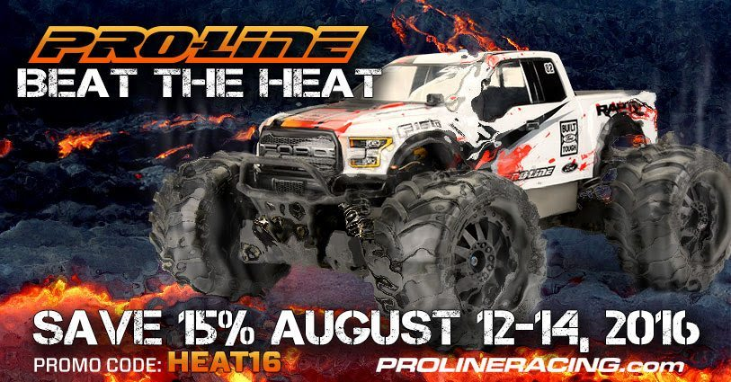 Pro-Line Summer 2016 Sale