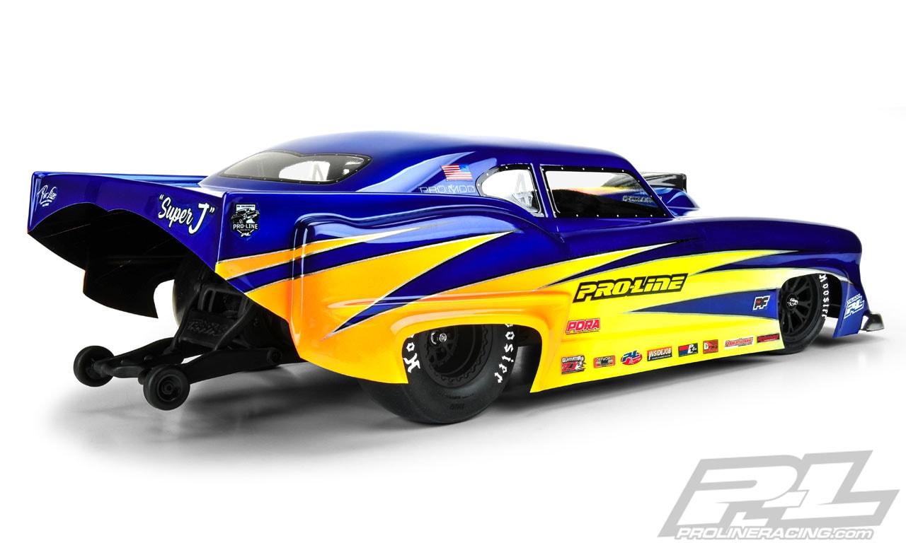 Pro-Line Super J Pro-Mod RC Body - Rear
