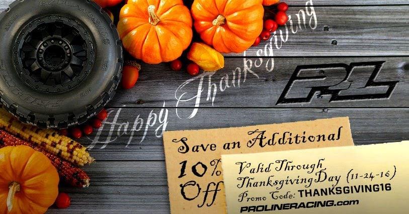 pro-line-thanksgiving-sale