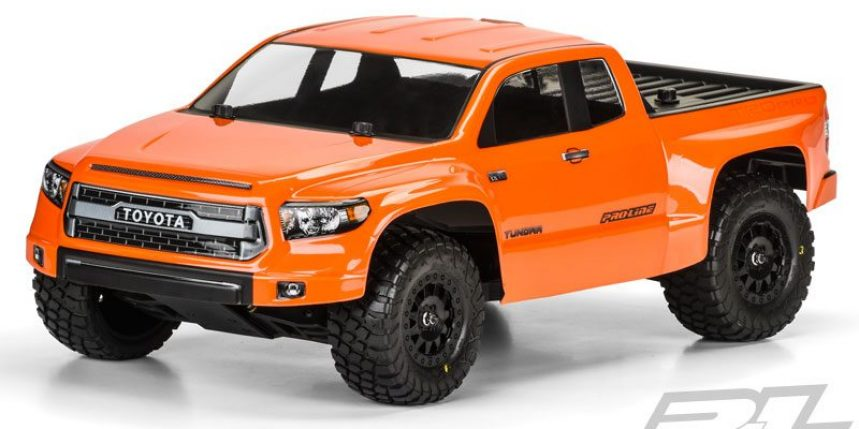 Pro-Line Releases a Toyota Tundra TRD Pro True Scale SCT Body