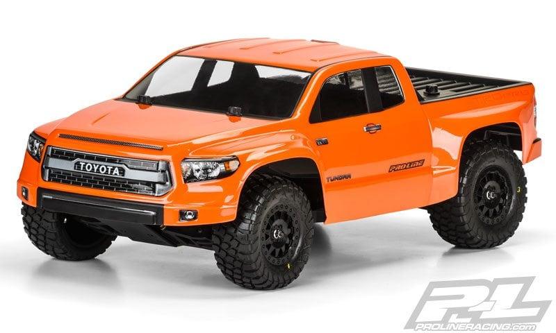 Proline Toyota Tundra >> Pro-Line Releases a Toyota Tundra TRD Pro True Scale SCT Body - RC Newb