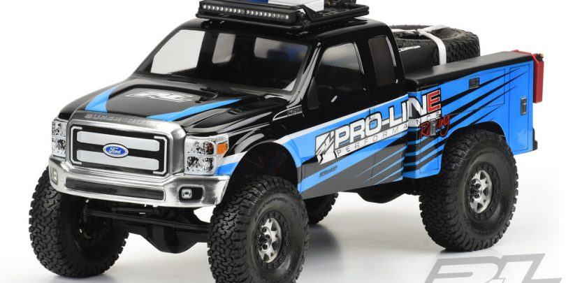 Pro-Line Utility Bed for 1/10 2-Piece Crawler Cabs