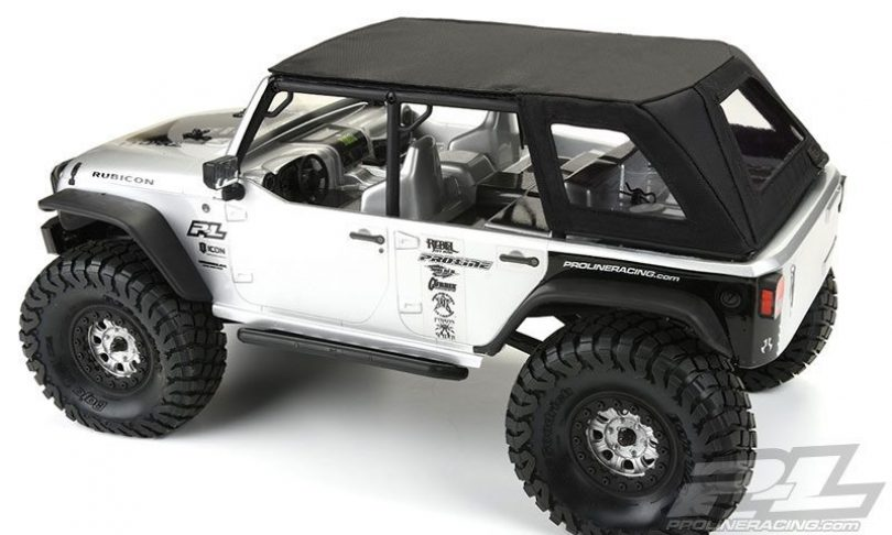 Pro-Line TimberLine Soft-Top for Axial's SCX10 Jeep Wrangler Unlimited Rubicon