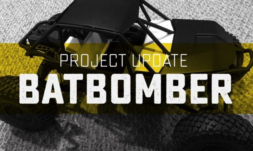 Project Update: #BatBomber – Working With Styrene