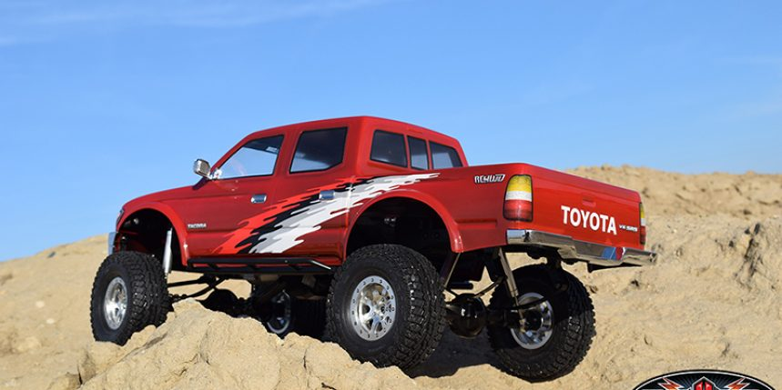 1966 Chevrolet C10 Clear Body Cab Only for SCX10 Honcho Bed
