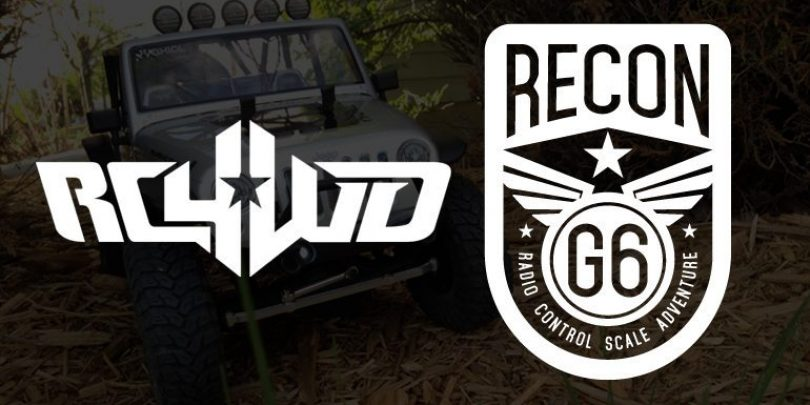 RECON G6 Gains RC4WD as Title Sponsor for 2016