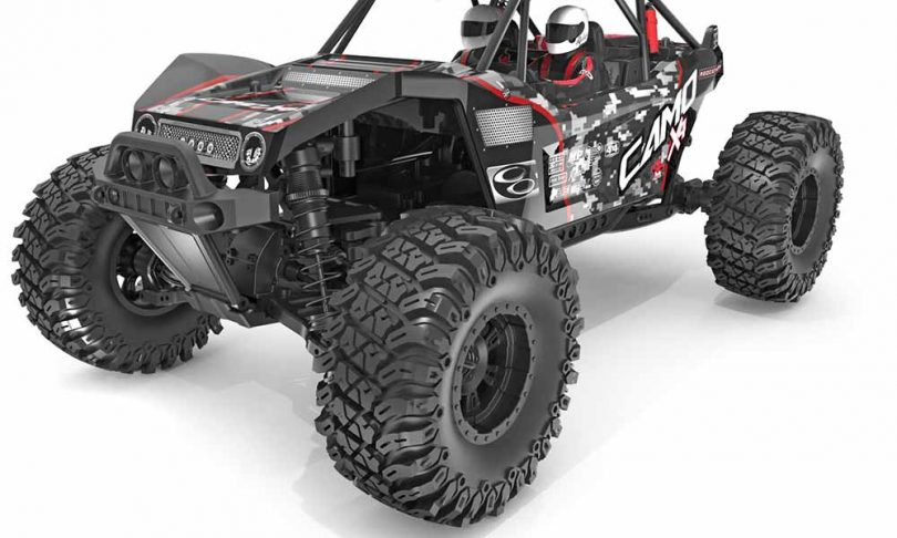 Redcat Racing Camo X4 Pro 1/10-scale Rock Racer