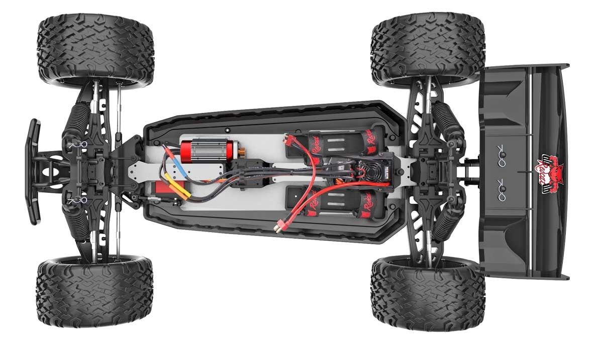 Redcat Racing Shredder RC Truck - Chassis