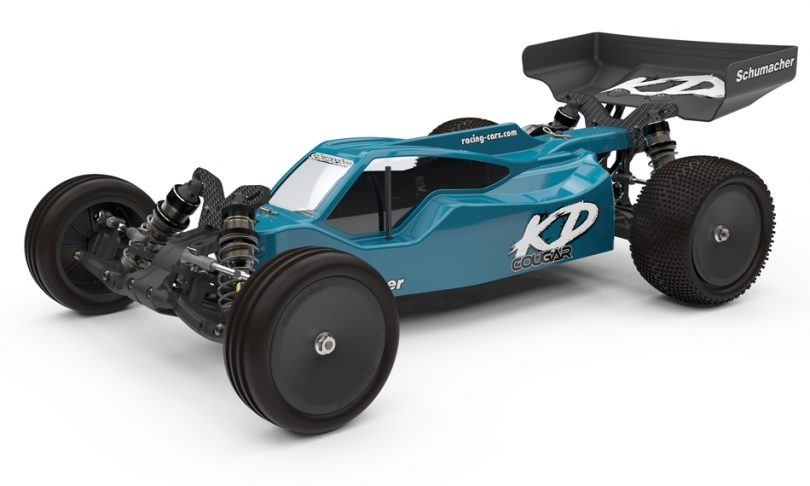 Schumacher's Cougar KD 1/10-scale, 2wd Competition Buggy