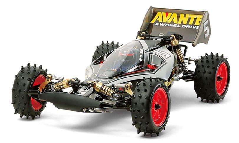 Tamiya Avante (2011) Black Special 1/10-scale Buggy Re-release