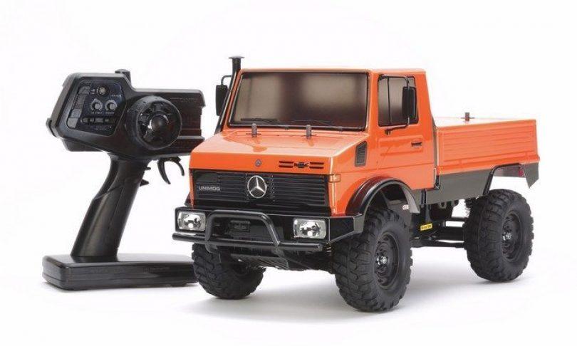 Tamiya's RTR Mercedes-Benz Unimog – CC01